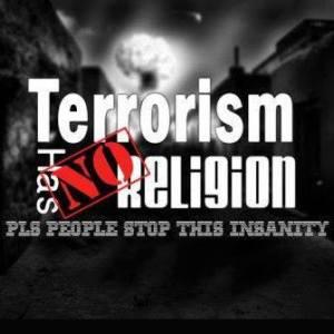 terror has no religion